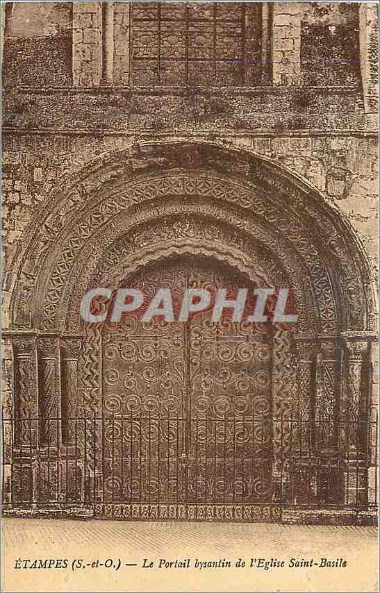 Ansichtskarte AK Etampes (S et O)Le Portail Bysantin de l'Eglise Saint Basile 0