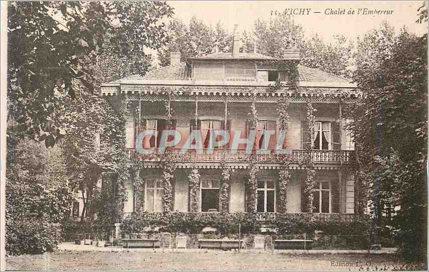 Ansichtskarte AK Vichy Chalet de l Empereur 0