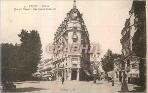 Ansichtskarte AK Vichy Astoria Rue de Nimes Rue Cunin Gridaine Coiffeur