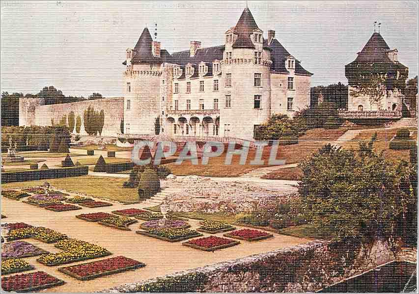 Moderne Karte St Porchaire Chateau de la Roche Courbon 0