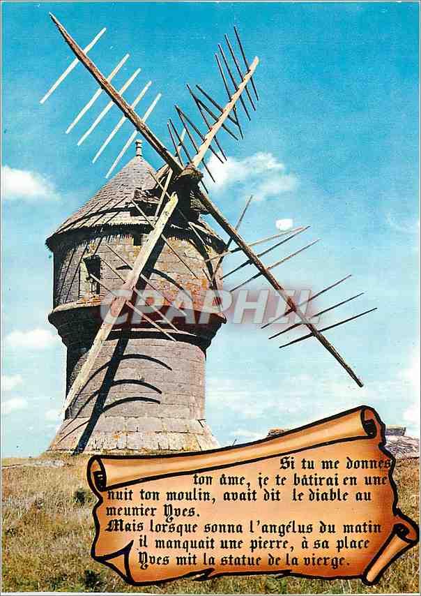 Moderne Karte Guerande Le moulin du Diable 0