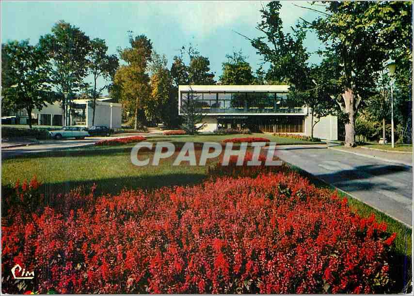 Moderne Karte Evry Essonne La Mairie et la Maison des Jeunes Andre Gossin Ris Orangis 0