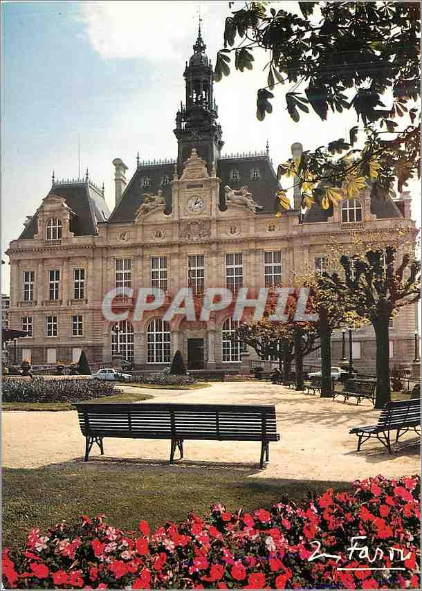 Moderne Karte Limoges Hte Vienne L Hotel de Ville 0