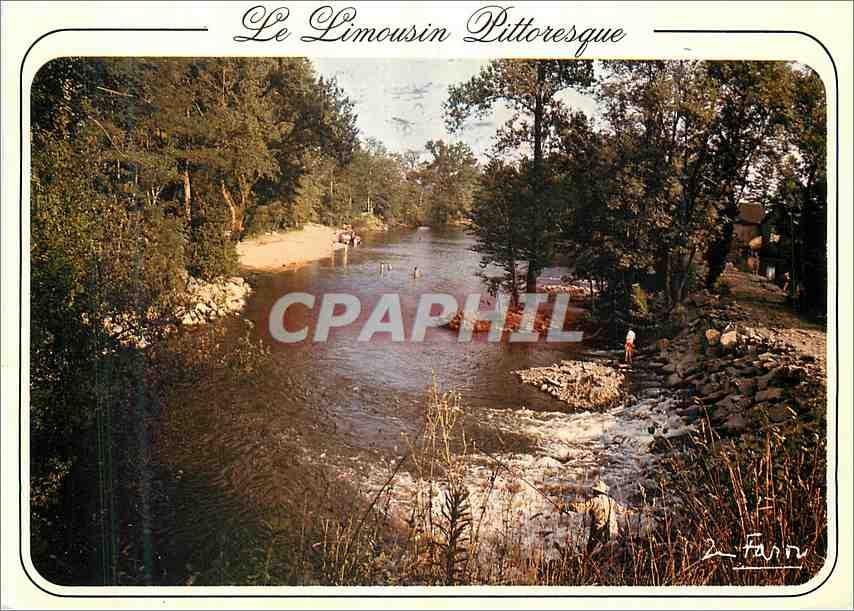 Moderne Karte Limousin Pittoreques Notre region est arrosee par de nombreux cours d eaux et ruisseaux 0