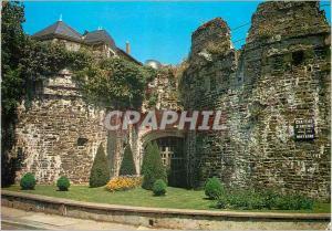 Moderne Karte Ancenis Loire Atlantique Le chateau