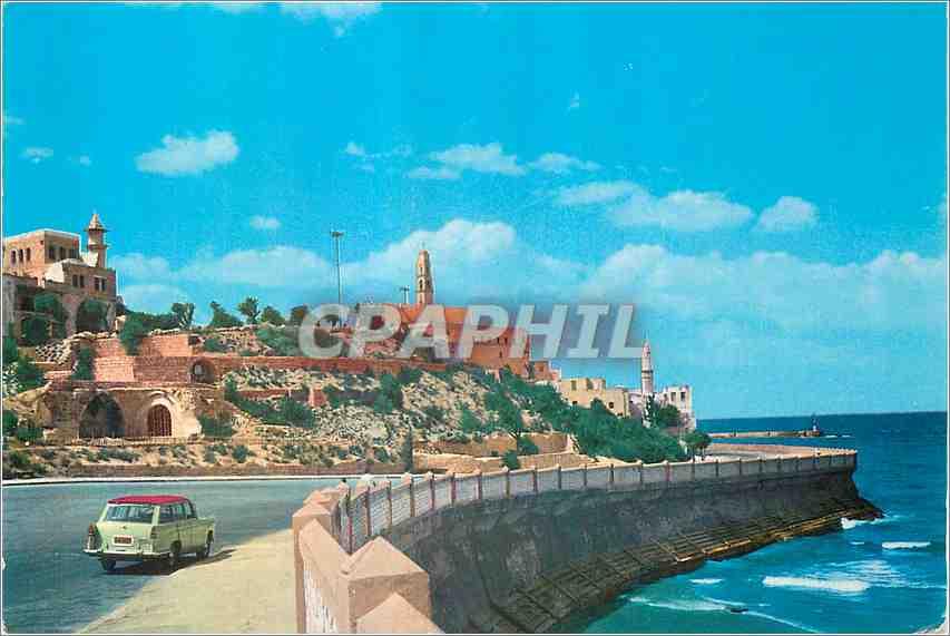 Moderne Karte Tel Aviv Way to Jaffa Port 0