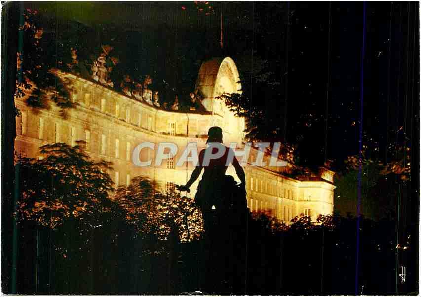 Moderne Karte Paris Les Invalides la nuit 0
