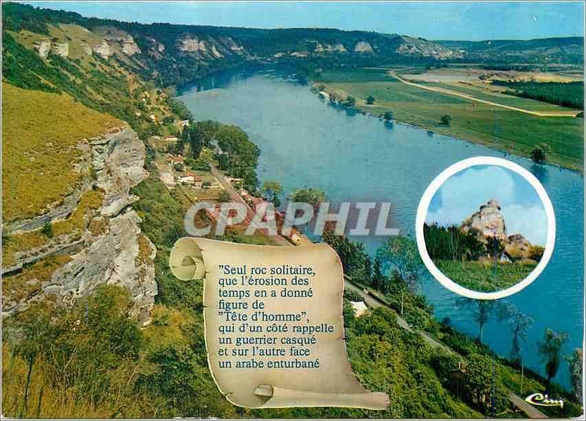 Moderne Karte Les Andelys Eure Vallee de la Seine 0