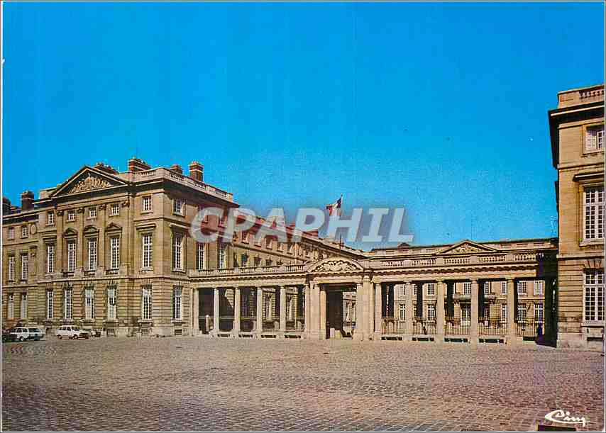 Moderne Karte Compiegne Oise Le Chateau 0