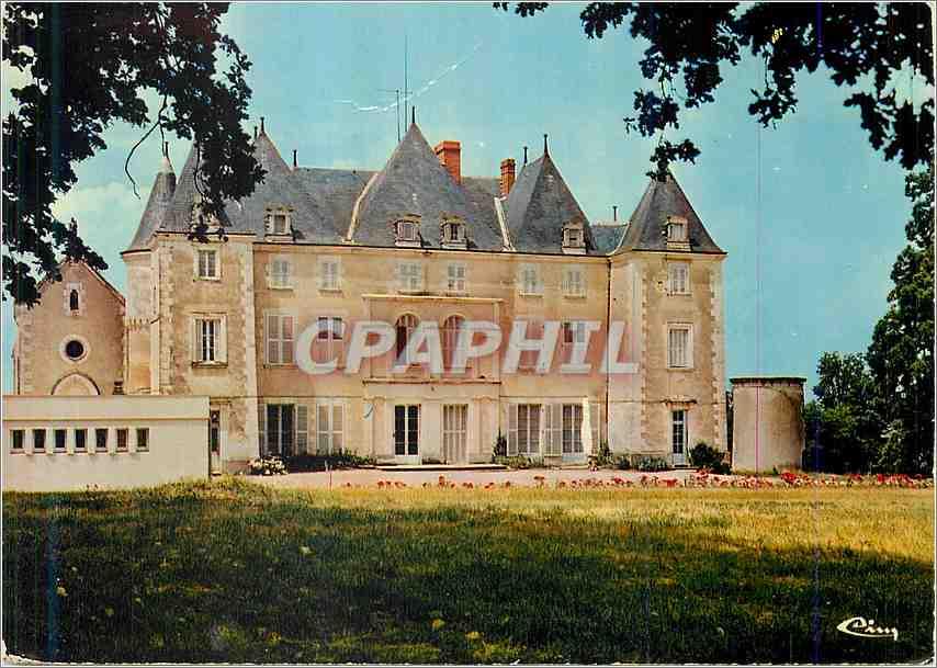 Moderne Karte Dange Saint Romain Vienne Chateau de Piolant 0