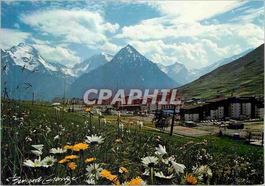Moderne Karte Les 2 Alpes 0