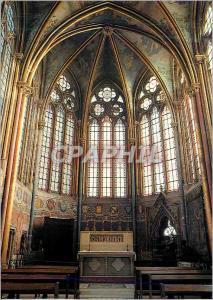 Moderne Karte Musee Jacquemart Andre de l Abbaye Royale de Chaalis La chapelle abbatiale le choeur