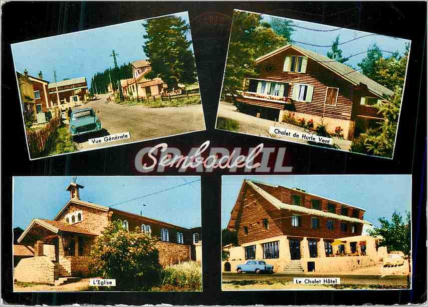 Ansichtskarte AK Sembadel Vue generale Chalet de Hurle Vent L'eglise Le chalet Hotel 0