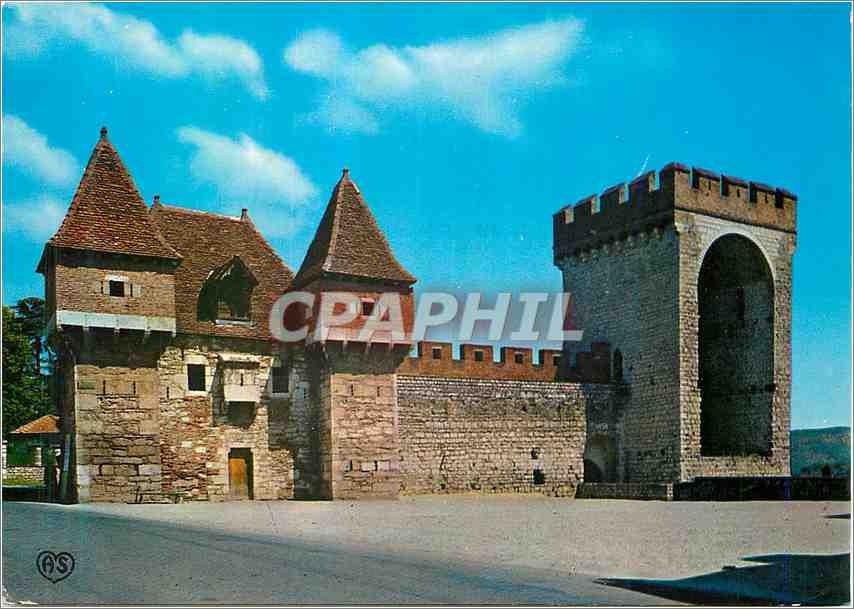 Ansichtskarte AK Cahors Lot La Barbacane et la Tour des Pendus 0