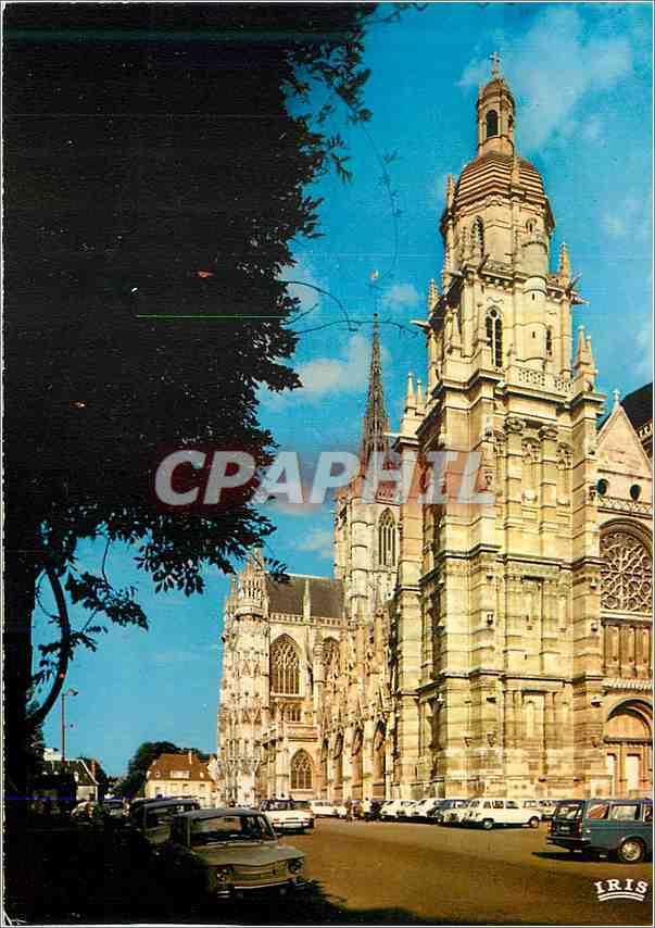 Ansichtskarte AK Evreux La Cathedrale 0
