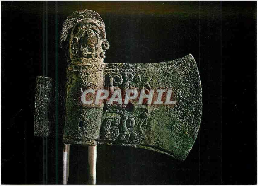 Moderne Karte Ceremonial axe bronze Victoria and Albert Museum  Chine China 0