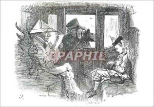 Moderne Karte Alice in the train Victoria and Albert Museum Lewis Carroll
