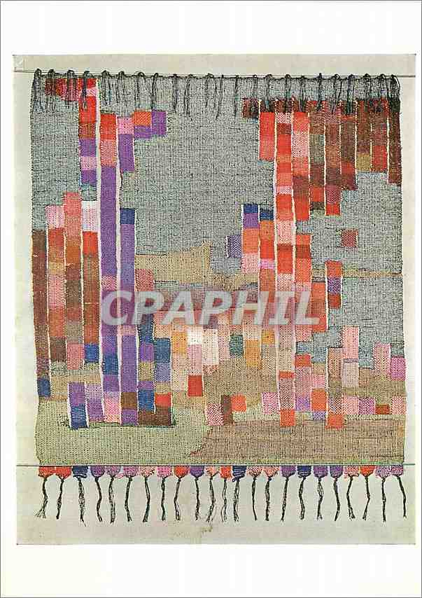 Moderne Karte Wall hanging by Mary Busirk Tapestry woven Victoria and Albert Museum 0