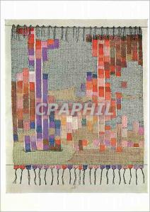 Moderne Karte Wall hanging by Mary Busirk Tapestry woven Victoria and Albert Museum