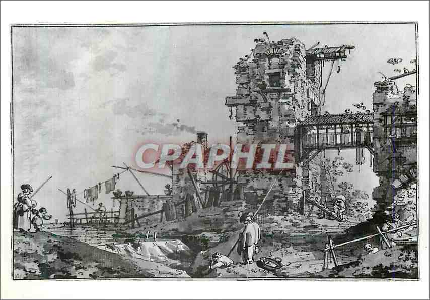 Moderne Karte Antonio Canaletto Imaginary landscape Victoria and Albert Museum 0