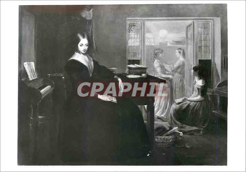 Moderne Karte The governess Oil in canvas Victoria and Albert Museum 0