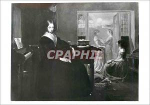 Moderne Karte The governess Oil in canvas Victoria and Albert Museum