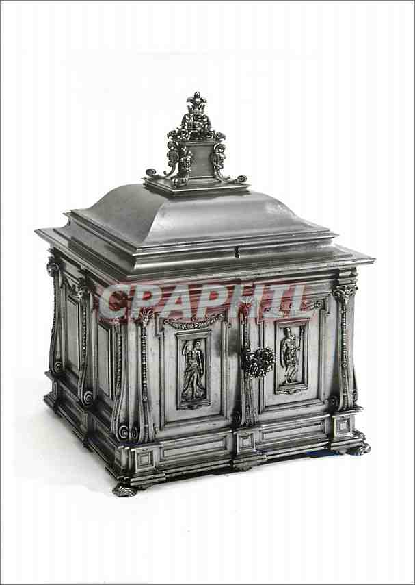 Moderne Karte Casket With chiselled decoration Victoria and Albert Museum 0