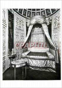 Moderne Karte Panelled room with Bedstead Victoria and Albert Museum