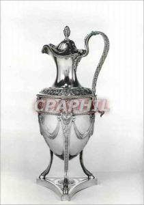Moderne Karte Chocolate pot Silver Makers mark of Henryy Greenway Victoria and Albert Museum