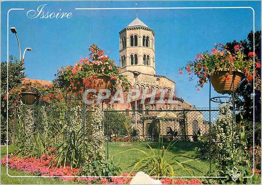 Moderne Karte Issoire Puy de Dome L eglise Saint Austremoine 0
