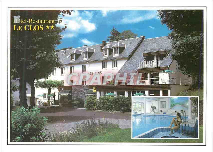 Moderne Karte Hotel Restaurant Le Clos Besse en Chandesse 0