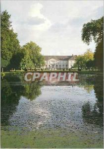 Moderne Karte L Abbaye royale de Chaalis Vue du parc et du chateau