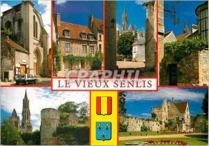 Moderne Karte Le Valois Senlis Oise L entree de l auditorium Franz Liszt