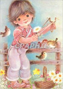 Moderne Karte Enfant