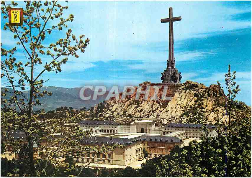 Moderne Karte Santa Cruz del Valle de Los Caidos 0