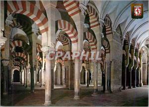 Moderne Karte Cordoba Mezquita Catedral Labyrinte de Colonnes