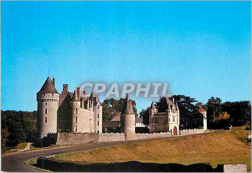 Moderne Karte Chateau de Monpoupon 0
