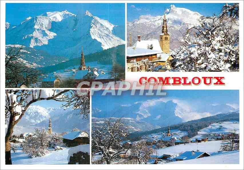 Moderne Karte Combloix Hte Savoie 0
