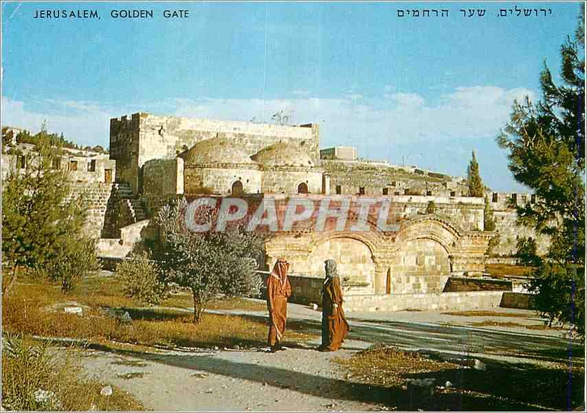 Moderne Karte Jerusalem La Porta d Oro 0