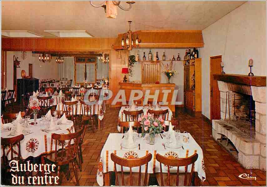 Moderne Karte Chitenay L et Ch Hotel Restaurant Une salle a manger 0
