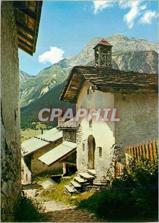 Moderne Karte Image de Chez nous La chapelle au coeur du village 0