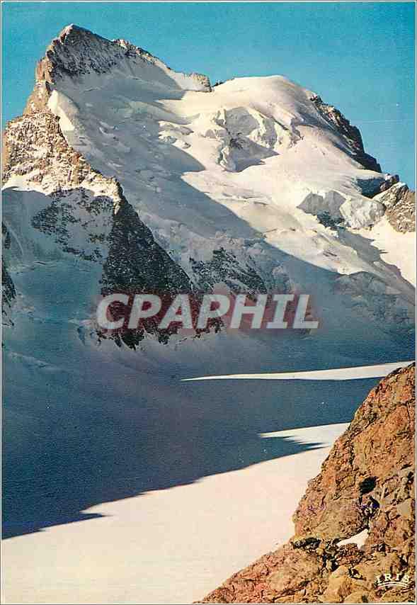 Moderne Karte Parc National du Pelvoux HA Face nord de la Barre des Ecrins 0