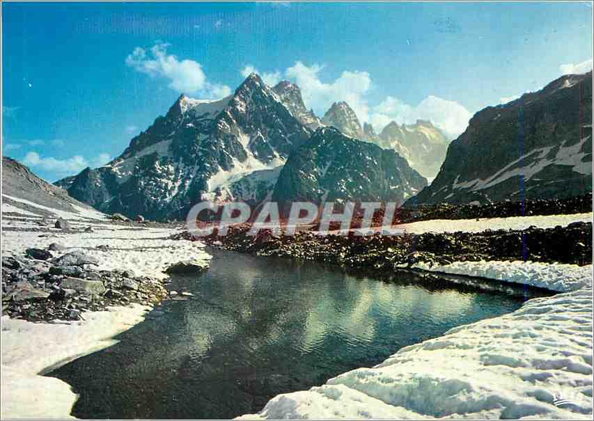 Moderne Karte Hautes Alpes Le Pelvoux 0