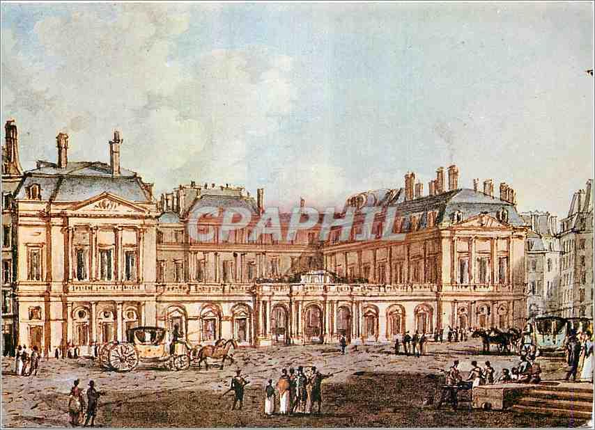 Moderne Karte Paris Place Royale 0