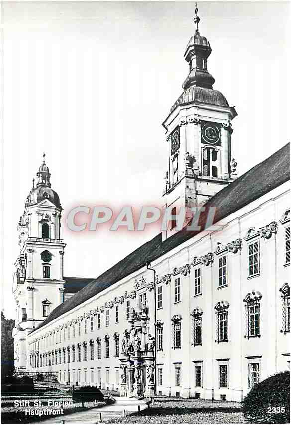 Moderne Karte Stift St Florian Hauptfront 0