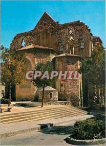 Moderne Karte Montpellier Herault Quartier Aragonais Vue de l Eglise Saint Roch