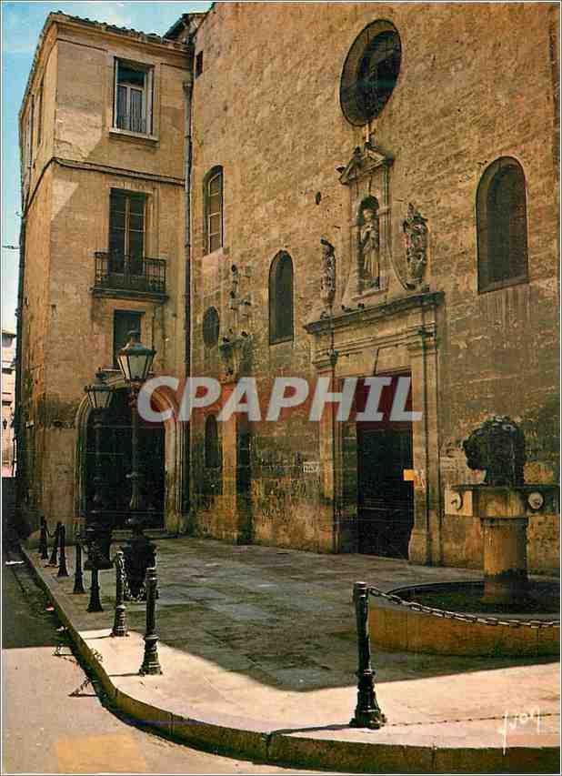 Moderne Karte Montpellier Herault L Ancienne Eglise des Augustins 0