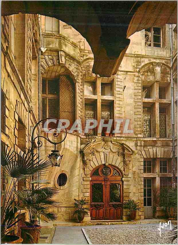 Moderne Karte Montpellier Herault Marais Montpellierain L Hotel de Sarret dit de la Coquille 0