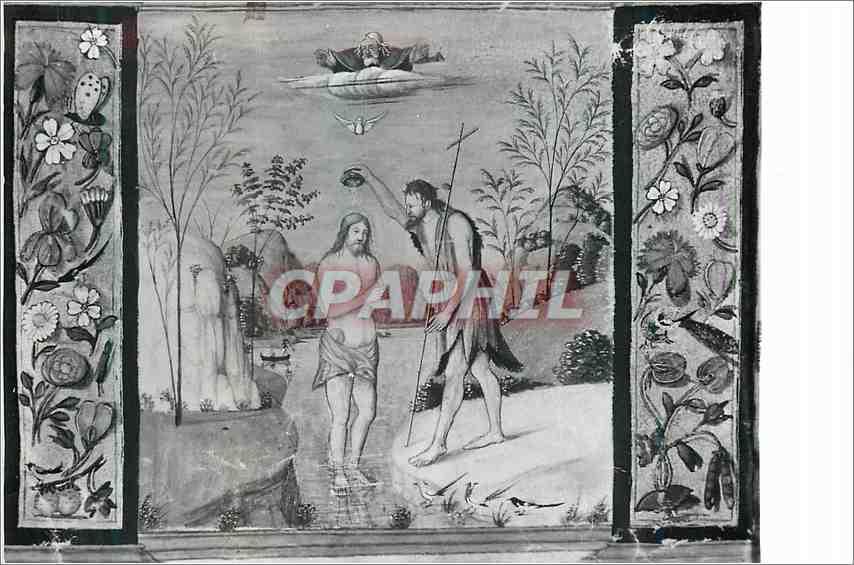 Moderne Karte Bologna Basilica di S Petronio Museo Battesimo di Gesu Cristo 0