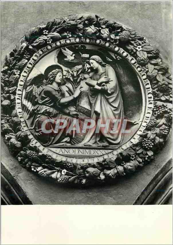 Moderne Karte Pistoia L Hopital de Ceppo L Annonciation Della Robbia 0